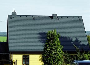 Beschichtung und Dacheindeckung